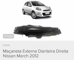 Maçaneta externa porta Nissan March Original