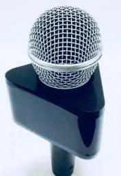 Canopla para Microfone em acrílico