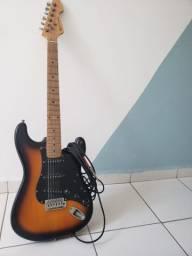 Guitarra + 2 cabos p10/p10