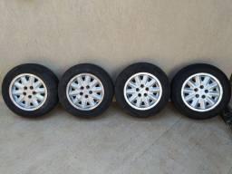 Rodas Omega GLS, serve em Audi, GM, Mercedes, VW Kombi, Jetta, Passat
