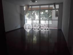 Apartamento à venda com 3 dormitórios em Cosme velho, Rio de janeiro cod:BO3AP47335
