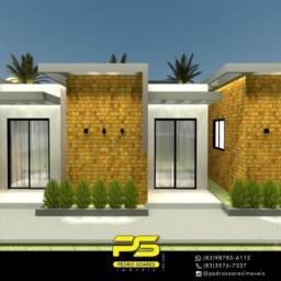 Casa com 2 dormitórios à venda por R$ 135.000 - Jacumã - Conde/PB