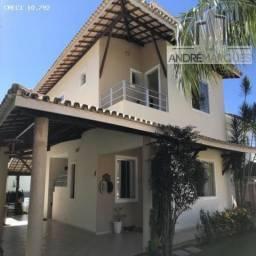 Casa em Condomínio para Venda em Camaçari, Abrantes, 4 dormitórios, 4 suítes, 6 banheiros,