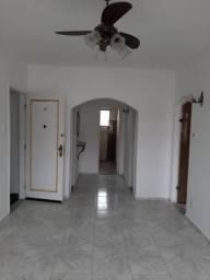 Apartamento com 2 dormitórios para alugar, 85 m² por r$ 1.700/ano - vila matias - santos/s
