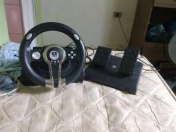 Volante Ps2 racer e pedal