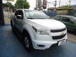 Chevrolet S10 Ltz Cabine Dupla 2013 2.5 Flex Branca Estudo Troca e Financio - 2013