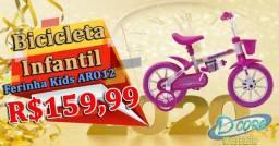 Bicicleta Infantil Aro 12 Ferinha kids /Dcore Moveis e Eletro