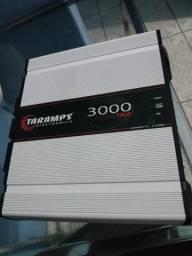 Taramps 3000trio 3000 watts e Fonte automotiva 200 amperes