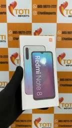 Smartphone Xiaomi Redmi Note 8 - 64gb - Preto e Azul