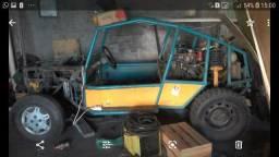 Vendo gaiola de trilha 1.6 ap turbo - 1990