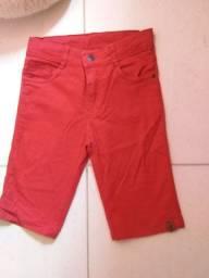 Short lindo vermelho