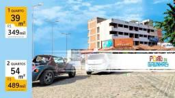 Flats em Porto de Galinhas | Centro | 1 e 2 Quartos | 39/54m²