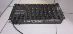 Mesa de som Watson wattsom de 10 canais