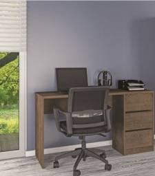 Título do anúncio: Mesa para escritório/ estudos | modelo com 3 gavetas | Pronta entrega