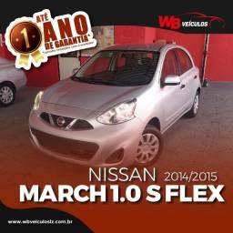 Nissan March S 1.0 16v FlexFuel, à vista ou financia