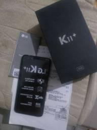 Troco LG k11+ perfeito com documentos e caixa