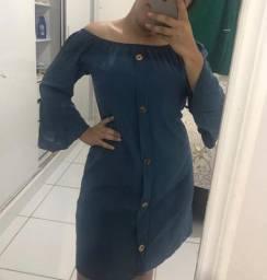 Vestido de viscose