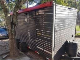 Reboque trailer fechado 5.5mts