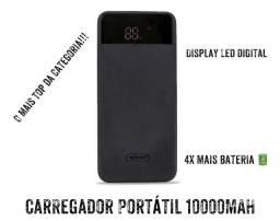 CARREGADOR PORTÁTIL 10000MAH COM DISPLAY DIGITAL