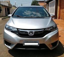 Honda Fit Lx 14/15 - Automático - Prata - Particular