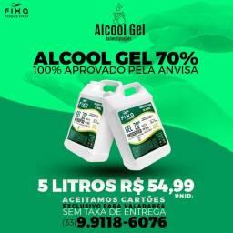 Álcool Gel Salles Soluções