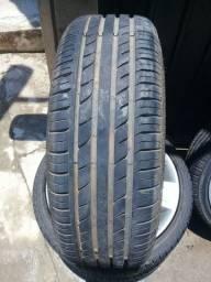 """Vendo rodas 17"""" pneus 195/40/17"""