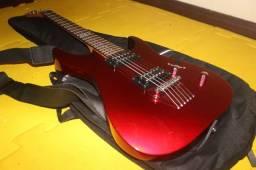 Guitarra Esp LTD M-10 | Ponte Tune-O-Matic | Braço Parafusado | Acompanha Bag | Vermelha