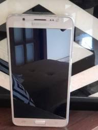 Celular Samsung J7- 16Gb - Dourado - Semi-novo
