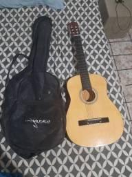 violão com capa