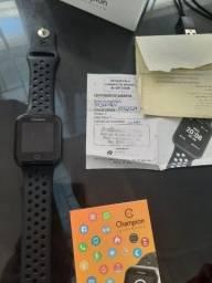 Vendo relogio champion preto smartwatch seminovo