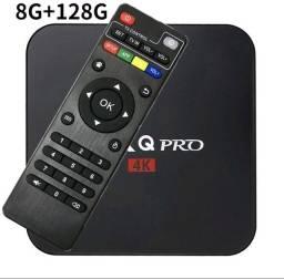 Tv box + i8 teclado inteligente
