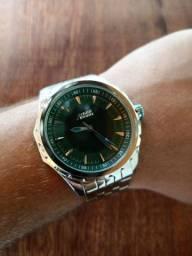 Relógio pulseira em aço inoxidável