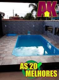 KS3/ Com piscina no quintal aproveite essa chance
