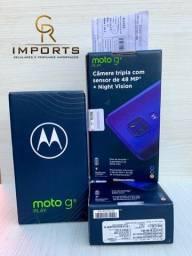 Moto G9 play 64Gb 4Gb de RAM Lacrado e nota fiscal Promoção día dos namorados