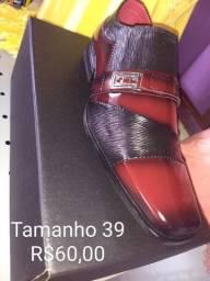 Sapato Social Sintético Masculino