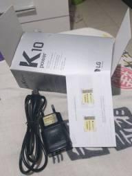 Valorize seu Lg k10 power caixa carregador cabo ilusb dados