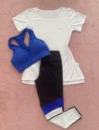 Calça/blusão e top (entrega grátis) em JP