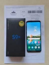 SAMSUNG GALAXY S9+128GB 6RAM ESTADO DE NOVO COMPLETO