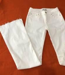 Calça flare jeans ZARA