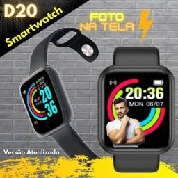 Título do anúncio: Promoção SmartWatch Relogio D20 Pro - Foto na tela