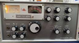 Radio HF p/ Radioamadores Delta 500 com Microfone Original