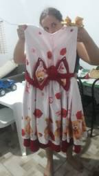 Vendo vestido infantil de festa