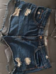 Vendo Short Jeans 50,00