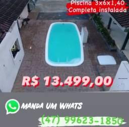 Promoção piscina