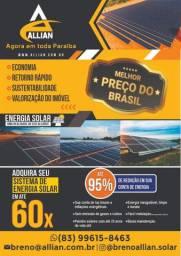 Energia Solar ao seu alcance!