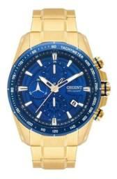 Título do anúncio: Relógio orient masculino cronograph mgssc0 24 d1kx com nota fiscal + brinde.