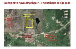 Terrenos Loteamento Novo Amanhecer - Encruzilhada São João Bezerros/PE