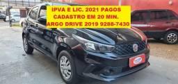 Argo Drive 2019 Completo Ac. Troca / Moto