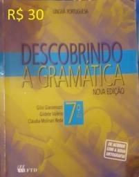 Livro: Descobrindo a Gramática - R$ 30