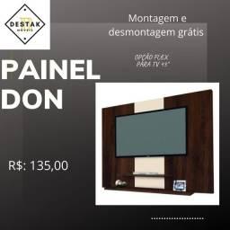 """Painel Don opções flex para tv 50"""" Entregamos e montamos GRÁTIS Painel tv50"""